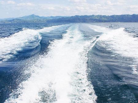 若狭湾をクルージング