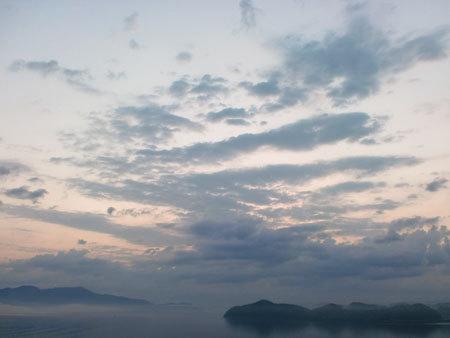 ホテルうみんぴあ・朝の風景