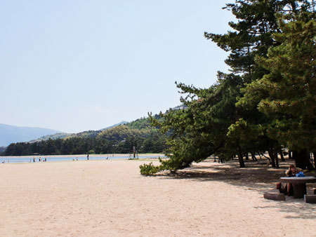 天橋立公園・砂浜・海水浴場