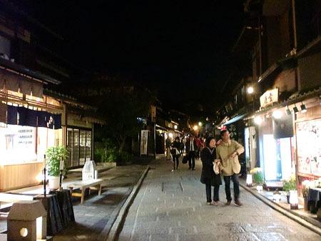 清水寺 夜の特別拝観 一年坂〜三年坂(産寧坂)