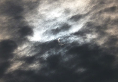 金環日食・観ました