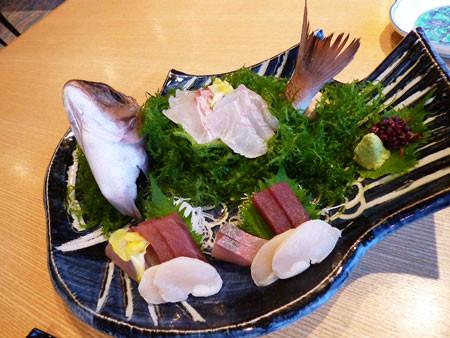 和食もんど岬で夕食(和食会席)