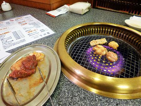 三宮・焼き肉 牛の器で夕食