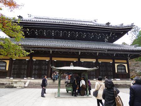南禅寺 法堂で参拝