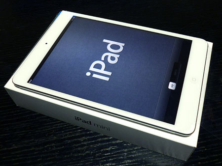 iPad mini Wi-Fi 16GB 設定