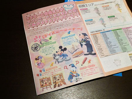 2013年度版のタウンページ