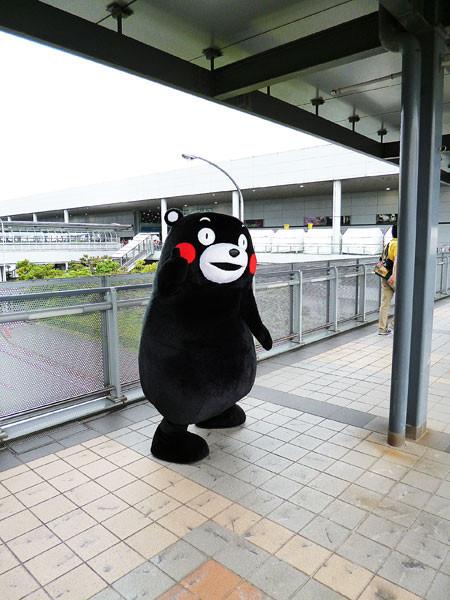 関空旅博2013に行ってきました くまモン
