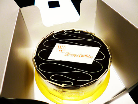 誕生日 ヴィタメール ケーキ