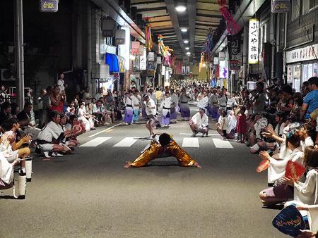 徳島県三好市,いけだ阿波踊り,行ってきました,奴踊り,やっこ踊り