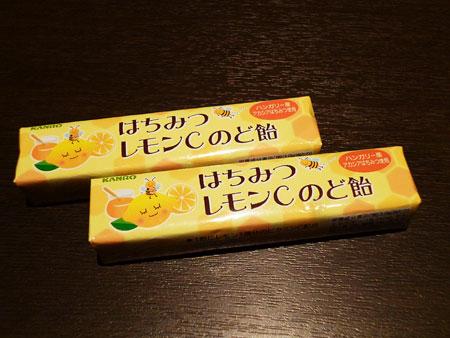 カンロ はちみつレモンCのど飴