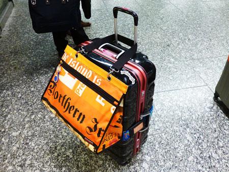 3泊4日 グアム旅行 なんば駅始発ラピートα 写真