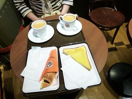 サンマルクカフェ 朝食 写真