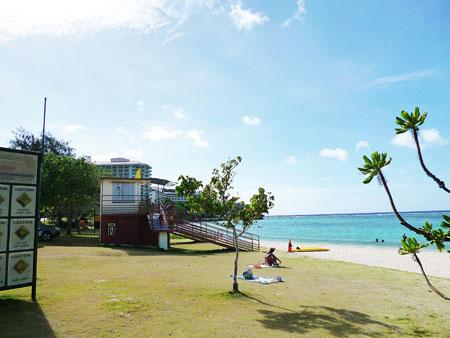 イパオビーチ シュノーケリング 写真