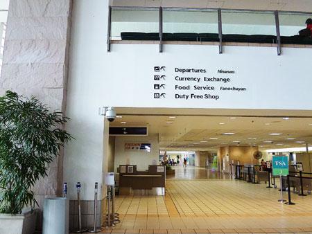 グアム国際空港 写真