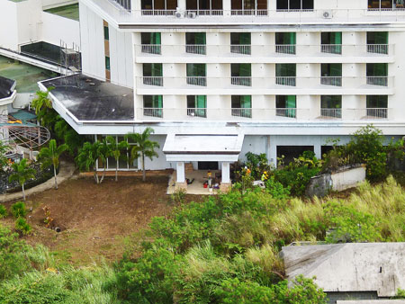 グランドオープン前 ロッテホテルグアム 写真